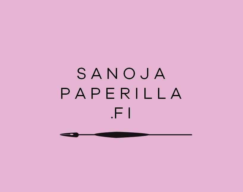 Sanoja paperilla | Moderni kalligrafia ja graafinen suunnittelu